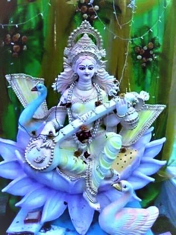 saraswati puja sanskriti dc